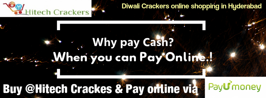Online Payments for fireworks - Diwali Crackers Online