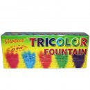 Tri Color Fountains Millennium (5 Pieces)