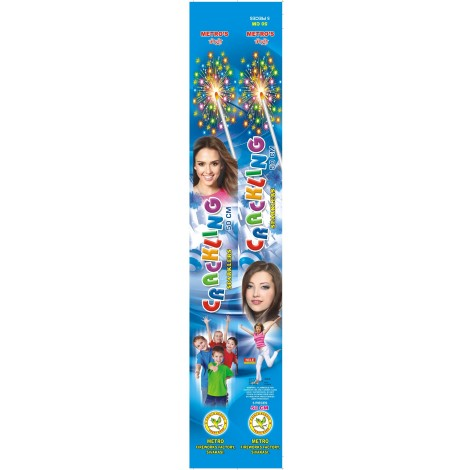 15 cm Crackling Sparklers - Metro/Other