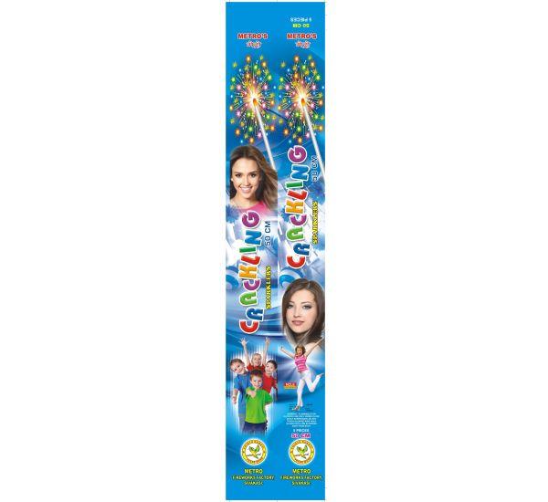 50 cm Crackling Sparklers - Metro/Other