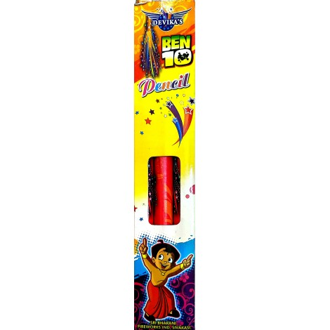 Ben 10 Candle/Pencil (3 Pieces)