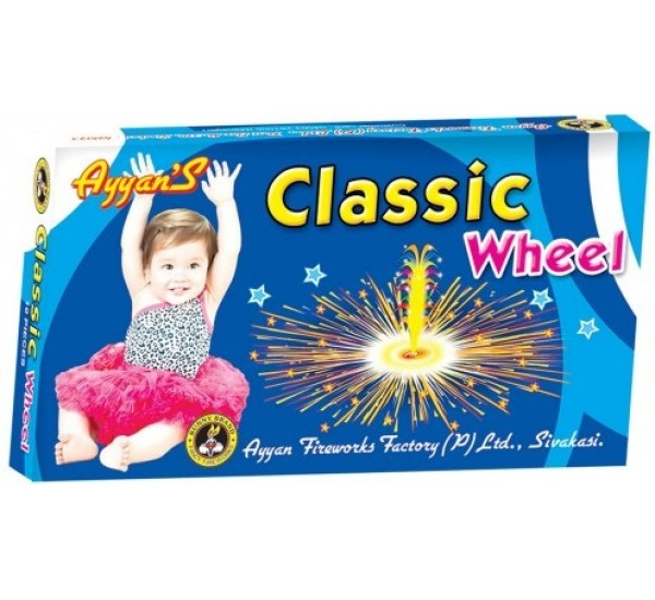 Classic Wheel / Flower Wheel (10 Pcs)
