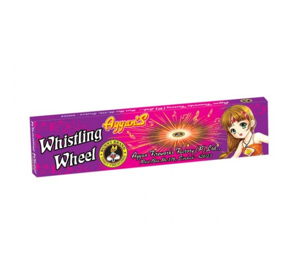 Whistling/Wizz Wheels (5 Pieces)