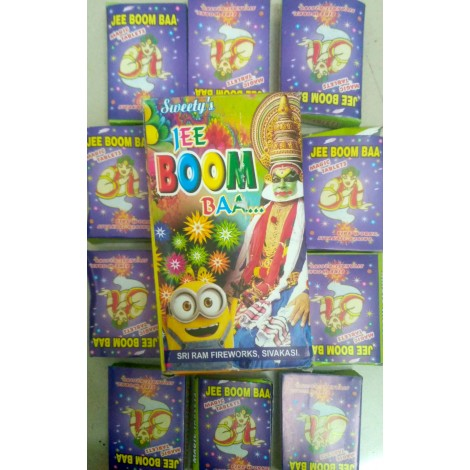 Jee Boom Baa (Mini Cracklers) (10 Tablets)