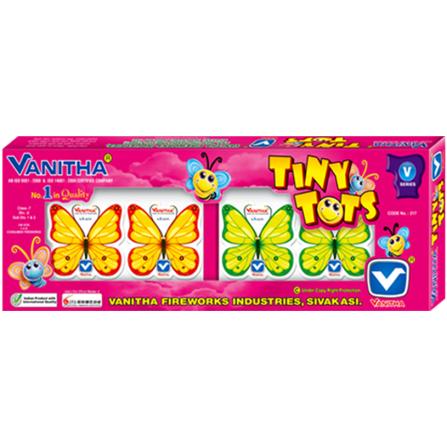 Tiny Tots (4 Pieces) - Vanitha Fireworks